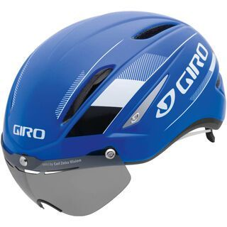 Giro Air Attack Shield, blue/white - Fahrradhelm