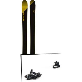 Set: Faction Candide 2.0 2018 + Marker Alpinist 9 black/titanium