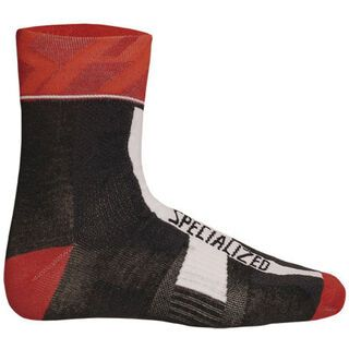 Specialized Pro Racing Sock, Black/Red - Radsocken