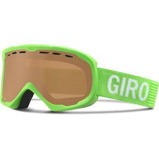 Giro Focus, bright green monotone/amber rose - Skibrille
