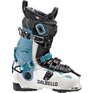 Dalbello Lupo AX 105 W 2020, white/blue cyan - Skiboots