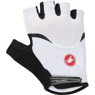 Castelli Arenberg Gel Glove, white/black - Fahrradhandschuhe
