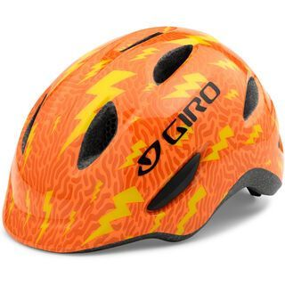 Giro Scamp, flame lightning bolts - Fahrradhelm