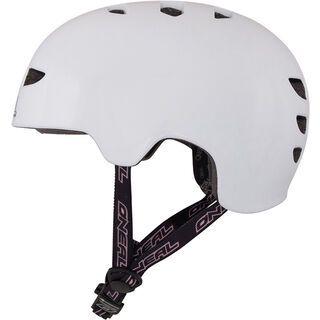 ONeal Dirt Lid Fidlock Inmold Plain Helmet, white - Fahrradhelm