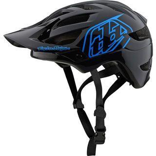 TroyLee Designs A1 Drone Youth Helmet, black/blue - Fahrradhelm