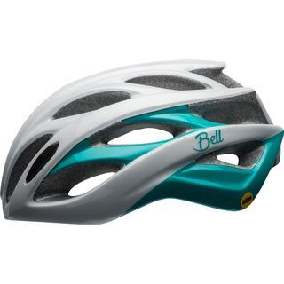 Bell Endeavor Joy Ride MIPS, white/emerald - Fahrradhelm