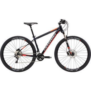 Cannondale Trail 2 27.5 2017, black/red - Mountainbike