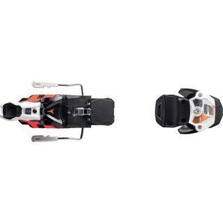 Atomic Warden MNC 13 100 mm, white/black/orange - Skibindung