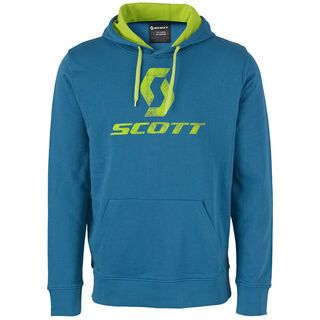 Scott 10 Icon l/sl Hoody, seaport blue - Hoody