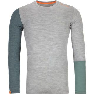 Ortovox 185 Merino Rock'n'Wool Long Sleeve M, grey blend - Unterhemd