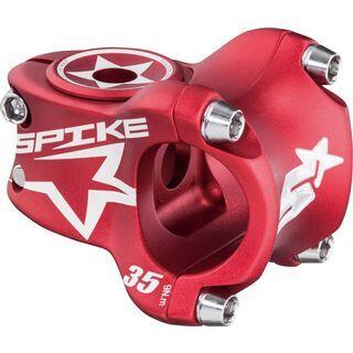 Spank Spike Race Stem, red/shot peen - Vorbau