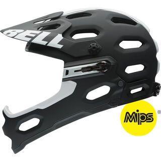 Bell Super 2R MIPS, matte black white viper - Fahrradhelm