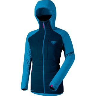 Dynafit Radical 2 Primaloft Women Hooded Jacket, methyl blue - Thermojacke