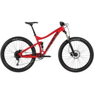 Norco Fluid FS+ 7.2 2017, red/black - Mountainbike