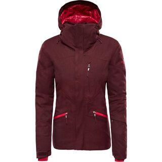 The North Face Womens Lenado Jacket, fig heather - Skijacke