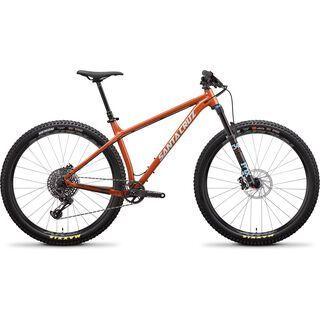 Santa Cruz Chameleon AL S 27.5 Plus 2019, orange/blue - Mountainbike