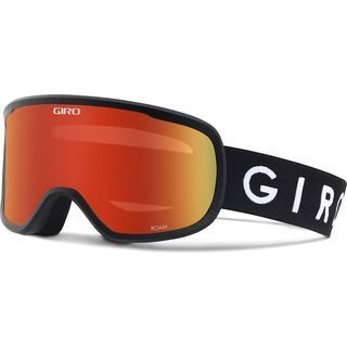 Giro Roam inkl. WS, black/Lens: amber scarlett - Skibrille