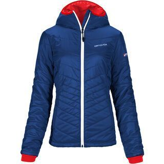 Ortovox Swisswool Piz Bernina Jacket, strong blue - Thermojacke