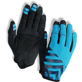 Giro DND, blue/black - Fahrradhandschuhe