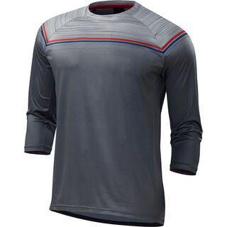 Specialized Enduro Comp 3/4 Jersey, grey/red - Radtrikot