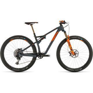 Cube AMS 100 C:68 TM 29 2020, grey´n´orange - Mountainbike