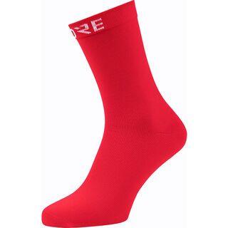 Gore Wear Cancellara Socken Mid red