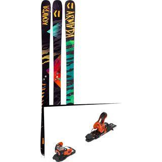 Set: Armada Arv 86 2019 + Salomon Warden 11 orange/black
