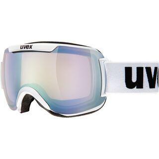 uvex downhill 2000 VLM, white/Lens:  litemirror silver - Skibrille
