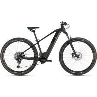 *** 2. Wahl *** Cube Access Hybrid EX 625 29 2020, black´n´aqua - E-Bike | Größe 15 Zoll