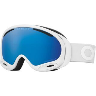 Oakley A Frame 2.0 Factory Pilot Whiteout Prizm, Lens: prizm sapphire iridium - Skibrille