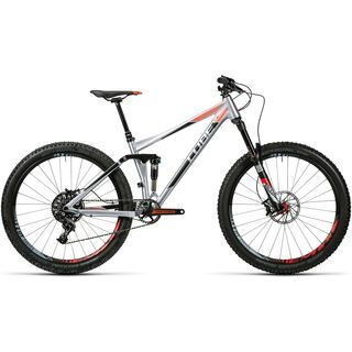 Cube Stereo 140 HPA SL 27.5 2016, metal´n´flashred - Mountainbike