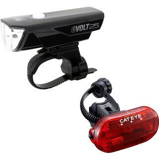 Cateye GVolt 25 + Omni 3G Beleuchtungsset