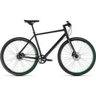 Cube *** 2. Wahl *** Hyde Race 2018 | Größe 58 cm, black´n´green - Urbanbike