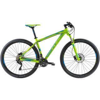 Cube LTD 29 2014, green/blue - Mountainbike