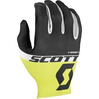 Scott RC Team LF Glove, black/sulphur yellow - Fahrradhandschuhe