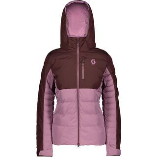 Scott Ultimate Down Women's Jacket red fudge/cassis pink