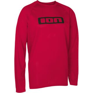 ION Tee LS Vice, crimson red - Radtrikot