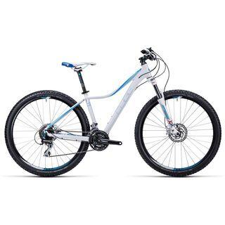 Cube Access WLS Pro 27.5 2015, white/blue - Mountainbike