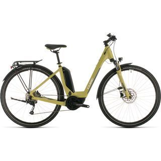 Cube Touring Hybrid ONE 500 Easy Entry 2020, green´n´white - E-Bike