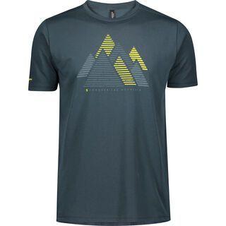 Scott Trail MTN Dri Graphic S/Sl Men's Shirt, nightfall blue - Radtrikot