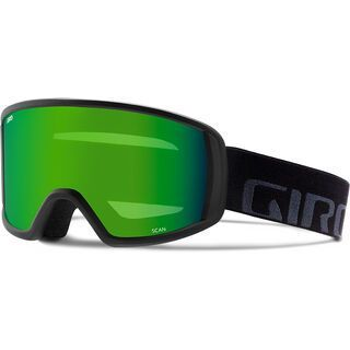 Giro Scan, black wordmark/Lens: loden green - Skibrille