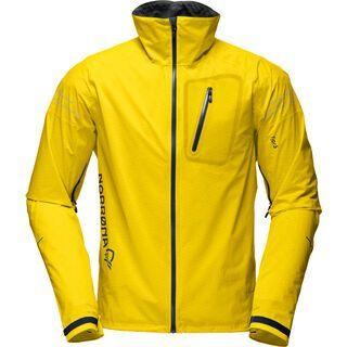 Norrona Fjørå dri1 Jacket, mellow yellow - Radjacke