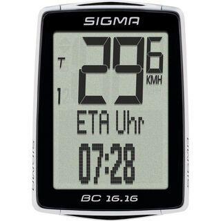 Sigma BC 16.16, schwarz - Fahrradcomputer