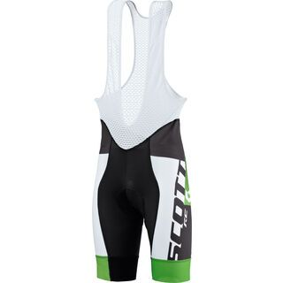 Scott RC Pro Bibshorts, black/classic green - Radhose