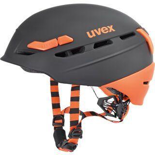 uvex p.8000 tour, black-orange mat - Fahrradhelm