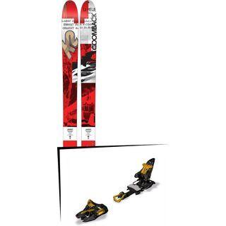 K2 SKI Set: Coomback 114 2016 + Marker Kingpin 13