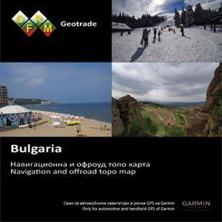 Garmin Topo Bulgarien (microSD/SD) - Karte