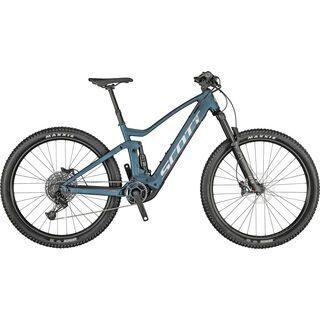 Scott Strike eRide 930 juniper blue/black 2021