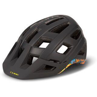Cube Helm Badger black´n´splash