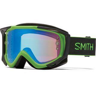 Smith Fuel V.2 inkl. Wechselscheibe, reactor/Lens: contrast rose flash - MX Brille